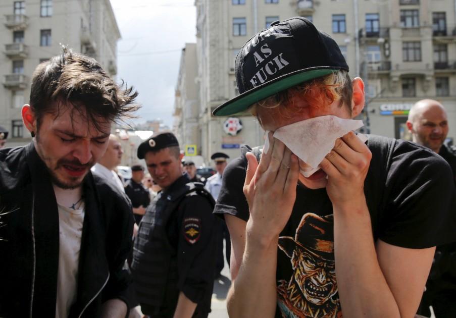 Гомосексуалисты из москвы